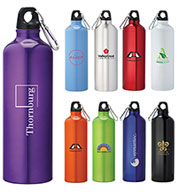 Custom Bullet Pacific 26oz Aluminum Sports Bottle