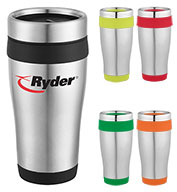Custom Bullet Carmel 16 oz. Travel Tumbler