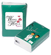 Custom Prime Line® Mini Tissue Packet - Doctor and Nurse
