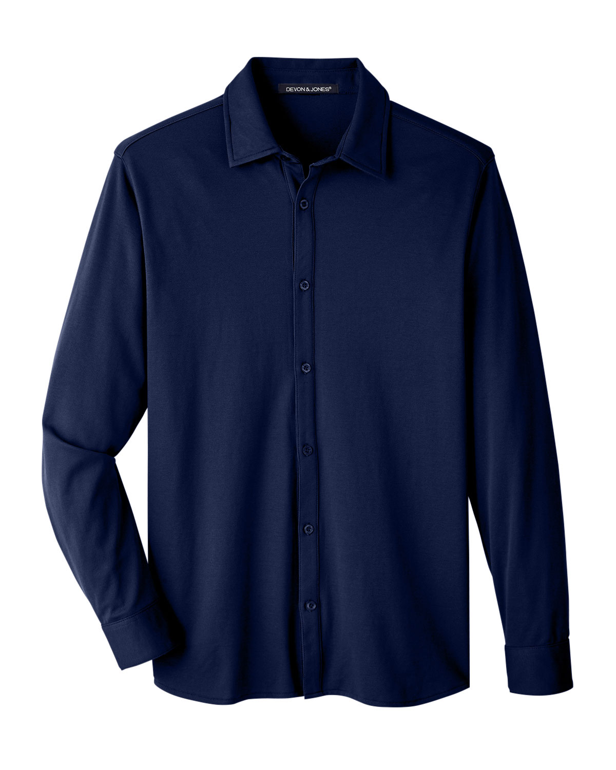 Devon & Jones Mens CrownLux Performance™ Plaited Shirt