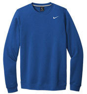 Custom Nike Mens Club Fleece Crew