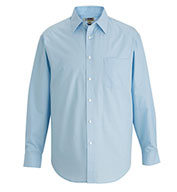 Custom Edwards Mens Long-Sleeve Essential Broadcloth Shirt