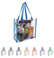 Custom Good Value® Clear Game Tote