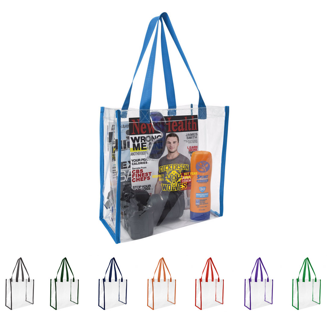 Good Value® Clear Game Tote