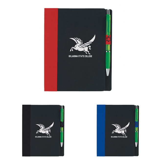 Good Value® 5 x 7 ECO Notebook with Flags