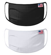 Custom Port Authority® All-American Cotton Knit Face Mask - 5 pack