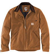 Custom Carhartt® Mens Tall Duck Detroit Jacket