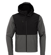 Custom The North Face® Adult Castle Rock Hooded Soft Shell Jacket