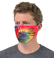 Custom Pennant Tie Dye Performance Face Mask