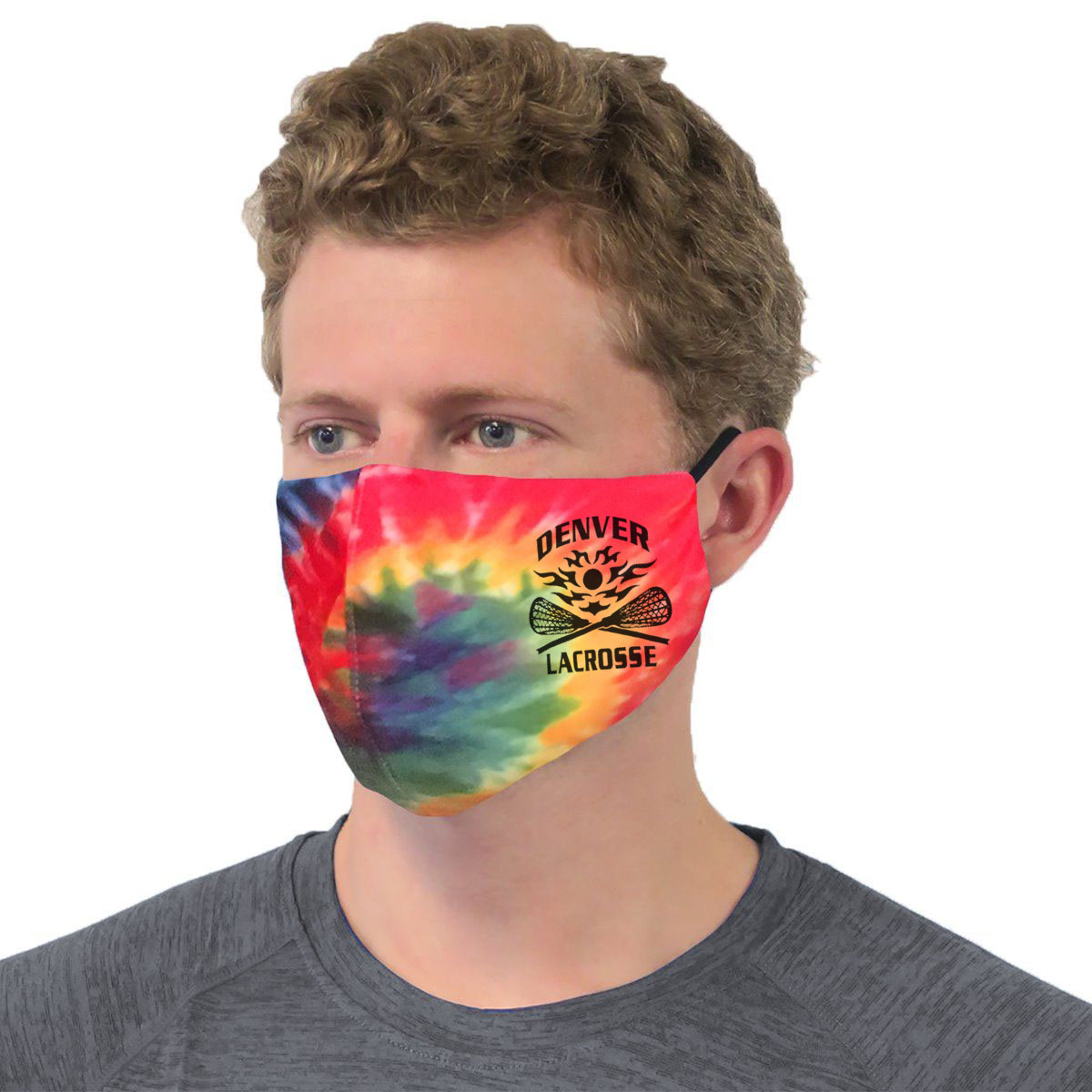 Pennant Tie Dye Performance Face Mask