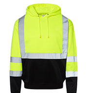Custom ML Kishigo Mens Hi-Vis Hooded Sweatshirt
