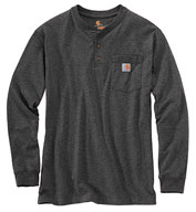 Custom Carhartt® Long Sleeve Henley T-Shirt