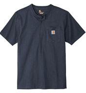 Custom Carhartt® Adult Short Sleeve Henley T-Shirt