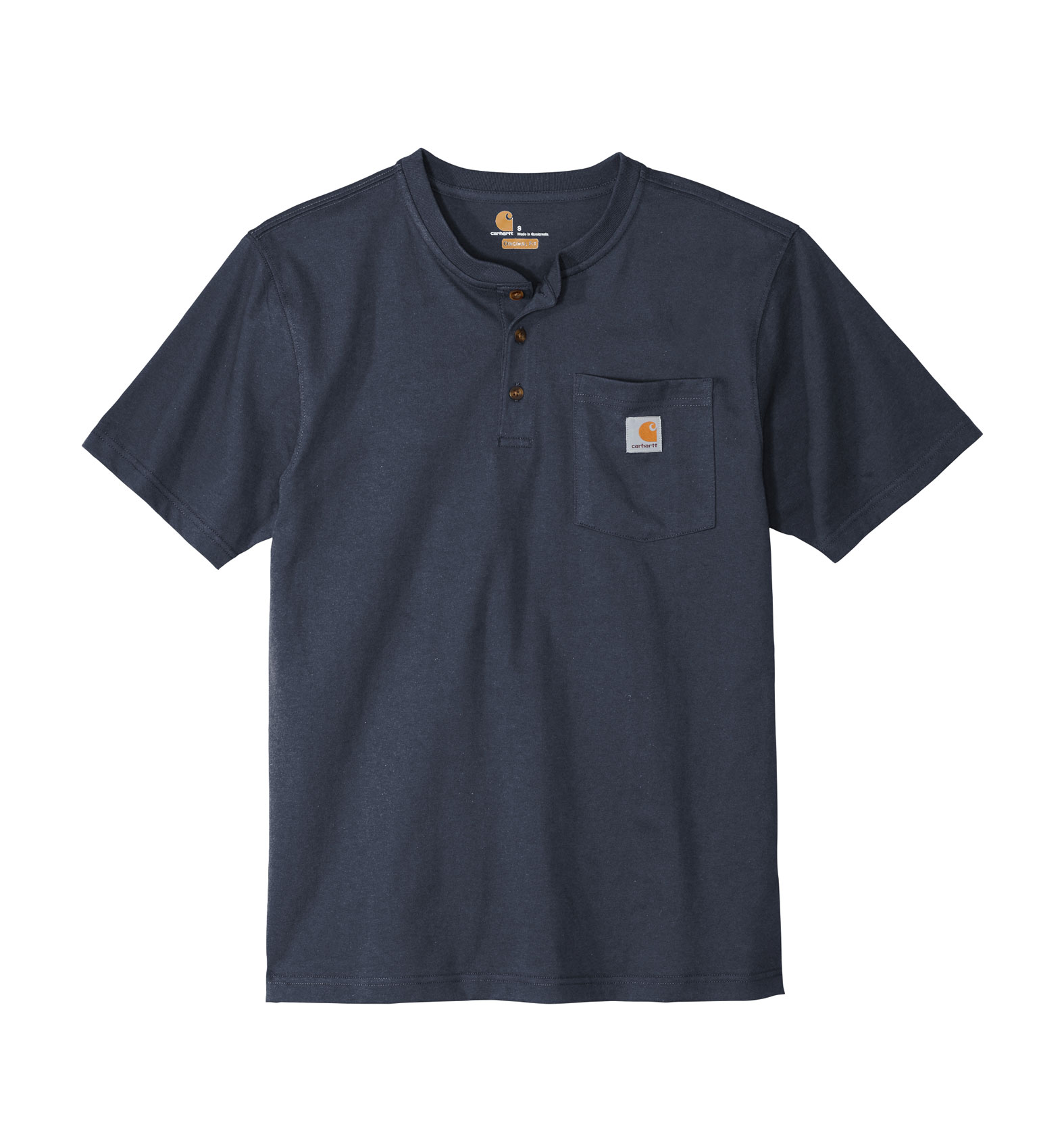 Carhartt® Adult Short Sleeve Henley T-Shirt
