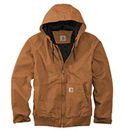 Custom Carhartt  Mens Washed Duck Active Jac