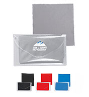 Custom Prime Line® Microfiber Cleaner Cloth In Pouch