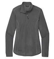 Custom Eddie Bauer® Ladies 1/2-Zip Microfleece Jacket