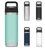 Custom Yeti Laser Engraved 18 oz. Rambler Bottle
