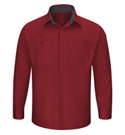 Custom Red Kap Mens Performance Plus Shop Shirt