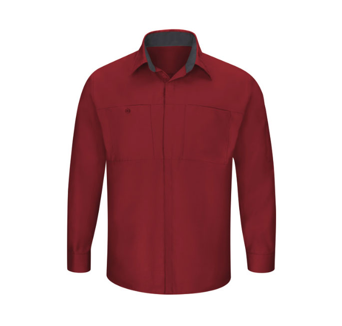 Red Kap Mens Performance Plus Shop Shirt