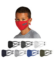 Custom Sport-Tek Youth PosiCharge Competitor Face Mask-5 Pack