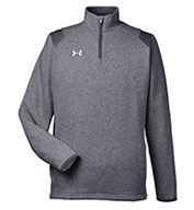 Custom Under Armour Mens Hustle Quarter-Zip Pullover Sweatshirt