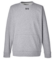 Custom Under Armour Mens Hustle Crewneck Sweatshirt