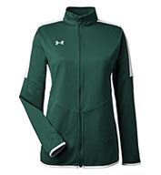 Custom Under Armour Ladies Rival Knit Jacket