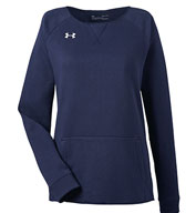 Custom Under Armour Ladies Hustle Crewneck Sweatshirt