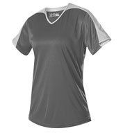 Custom Alleson Womens V-neck Fastpitch Jersey