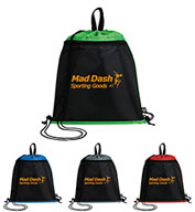Custom Good Value® PrevaGuard™ Drawstring Backpack