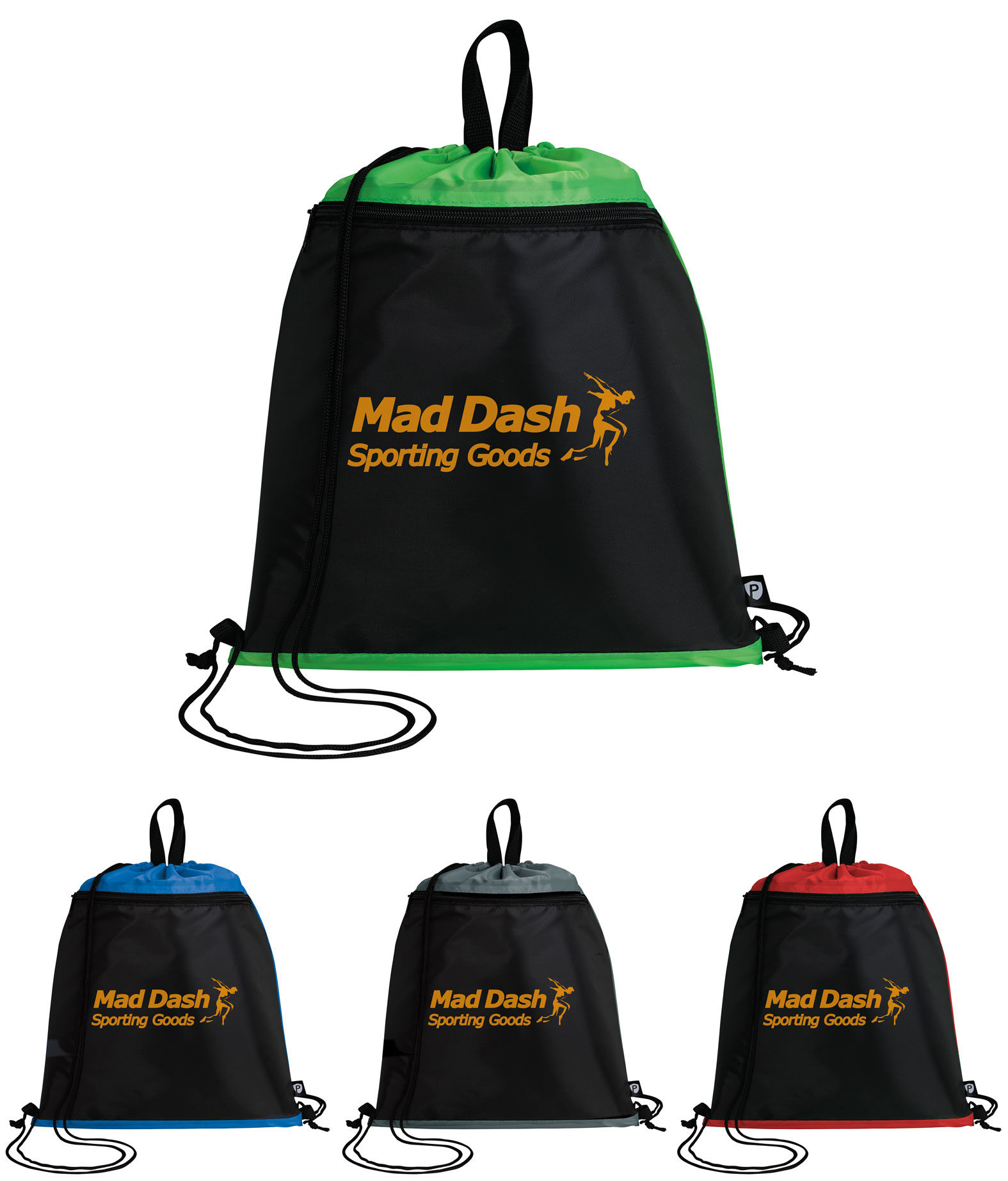 Good Value® PrevaGuard™ Drawstring Backpack