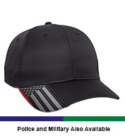 Custom Outdoor Cap Performance Service Stripe Cap
