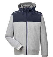 Custom Nautica Mens Navigator Full-Zip Jacket