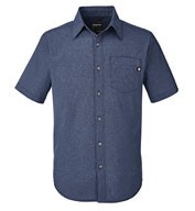Custom Marmot Mens Aerobora Woven Short-Sleeve Shirt
