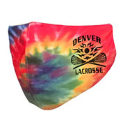 Custom Pennant Youth Tie Dye Performance Face Mask