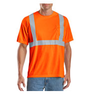 Custom Mens ANSI 107 Class 2 Safety T-Shirt