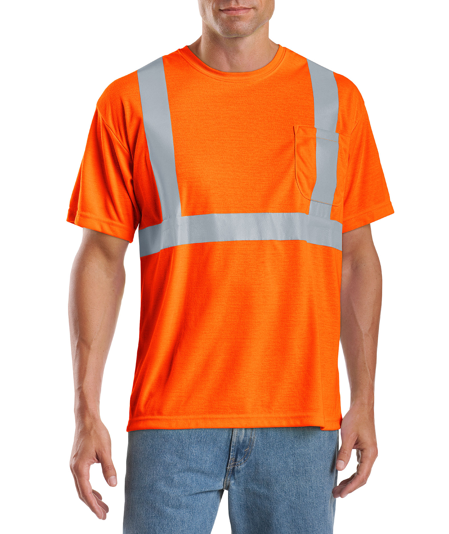 Mens ANSI 107 Class 2 Safety T-Shirt