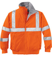 Custom Port Authority® Enhanced Visibility Challenger™ Jacket With Reflective Taping