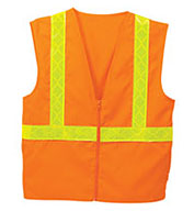 Custom Adult Fluorescent Safety Vest