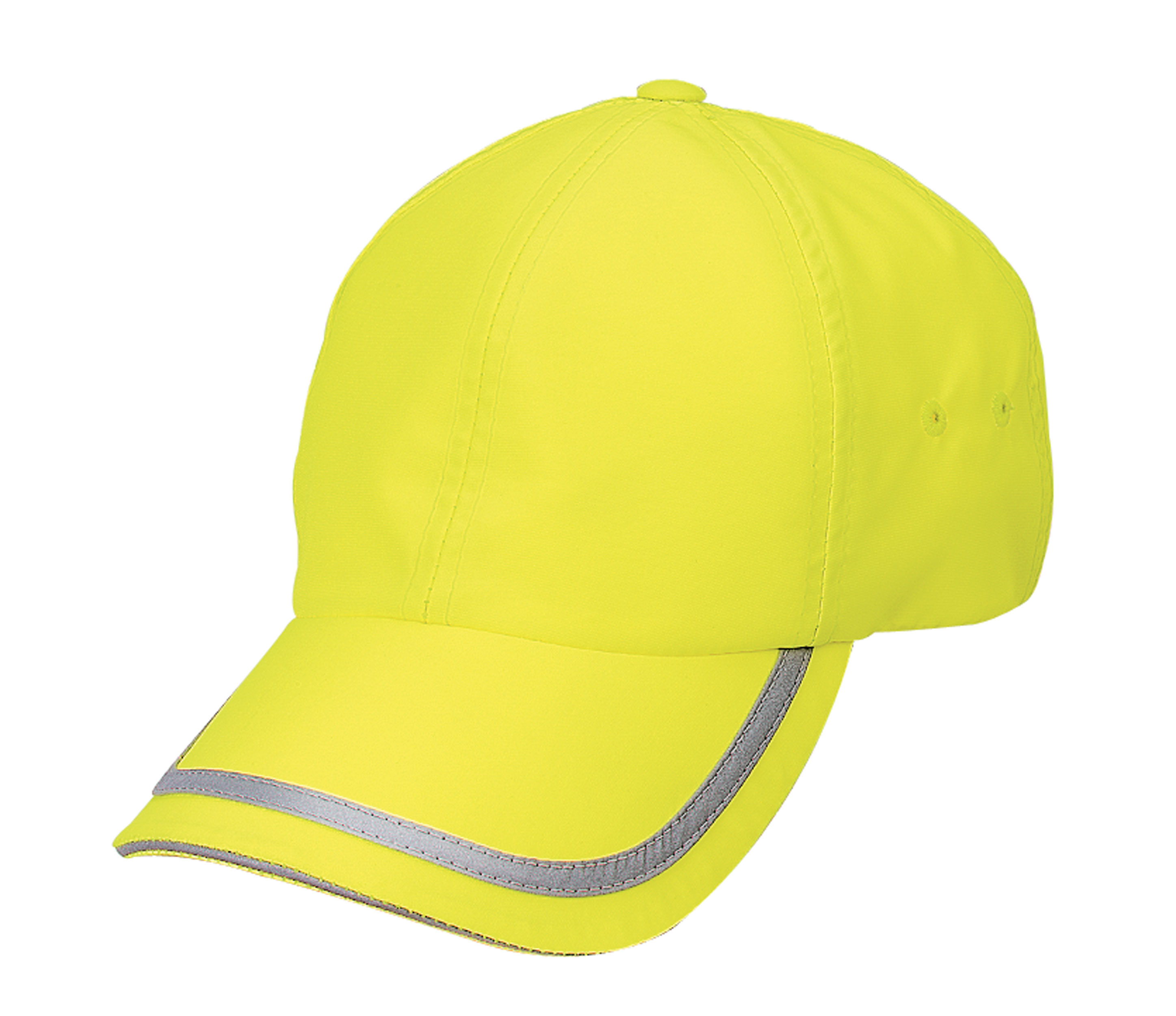 Fluorescent Wicking Safety Cap