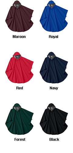 Adult Pacifico Poncho by Charles River Apparel - All Colors
