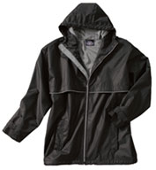 Custom Charles River Adult New Englander Rain Jacket