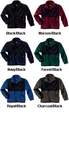 Adult Evolux™ Fleece Jacket by Charles River Apparel - All Colors
