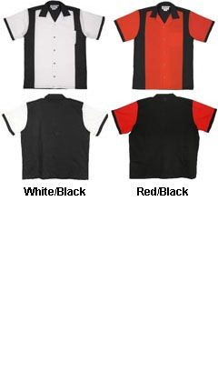 Adult Retro Bowling Shirt - All Colors