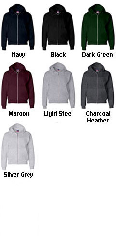 Champion Heavyweight Full Zip Hooded Sweatshirt - All Colors
