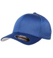 Custom Yupoong Six Panel Athletic Mesh Flexfit Cap