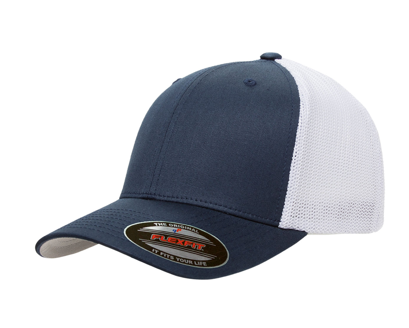 e8816cad6e02ac Yupoong Flexfit® Custom Mesh Truckers Cap - Design Online or Buy It Blank