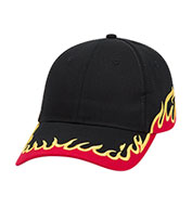 Custom Adult Flame, Low Profile Racing Team Cap