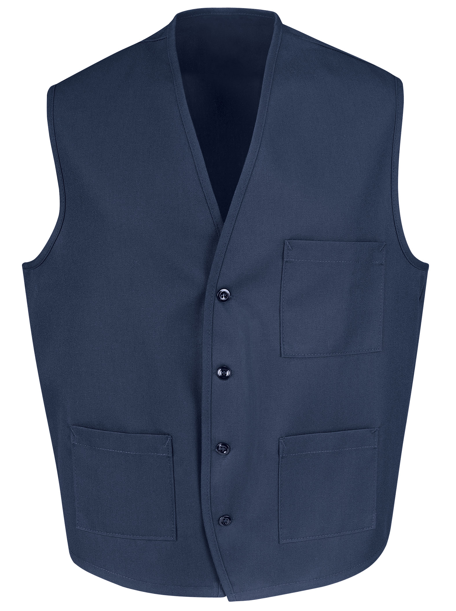 Red Kap Mens Three Pocket Vest